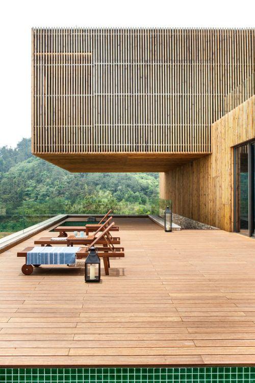 نما ، کف و دیوار چوبی ترموود