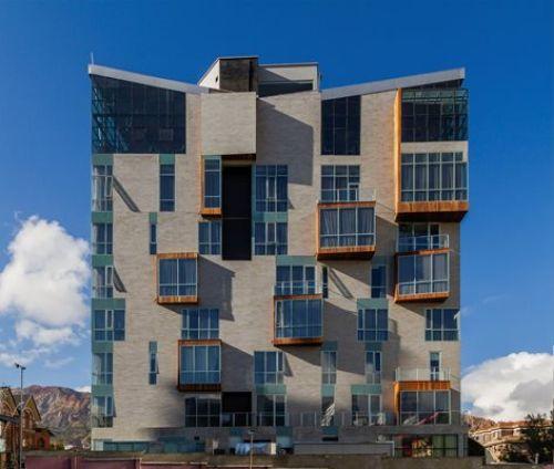 نمای ساختمان اتیکس