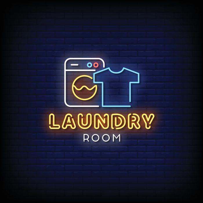 تابلو تبلیغاتی خشکشویی