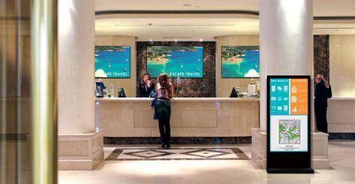 تابلو دیجیتال هتل