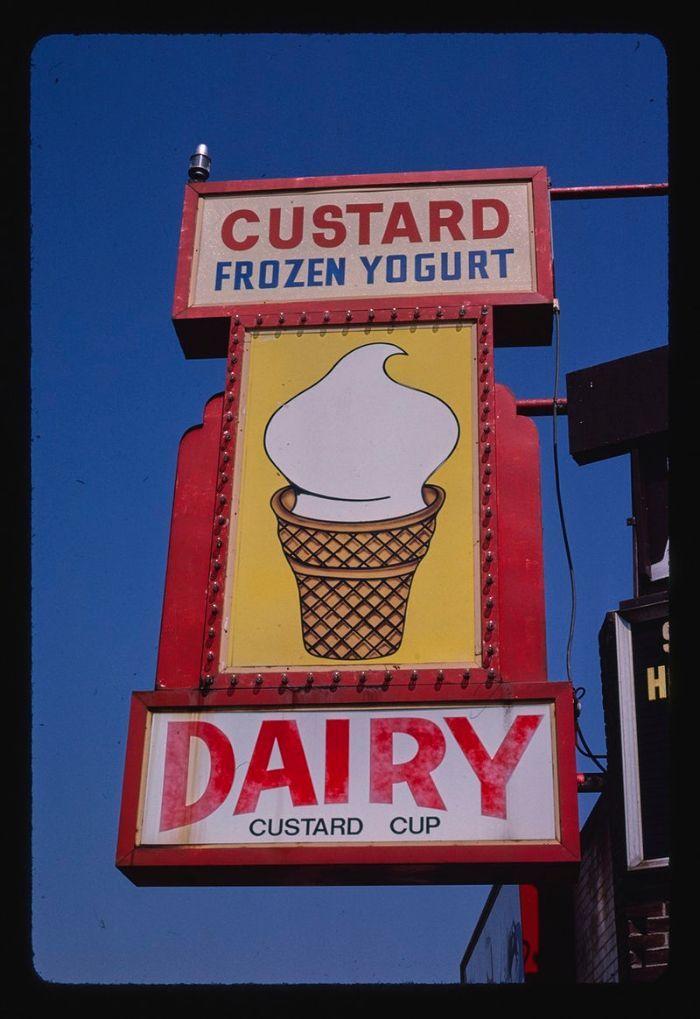 تابلو بستنی و آبمیوه فروشی