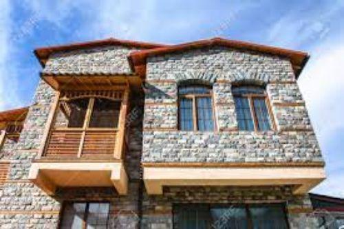 نمای ساختمان سنگی