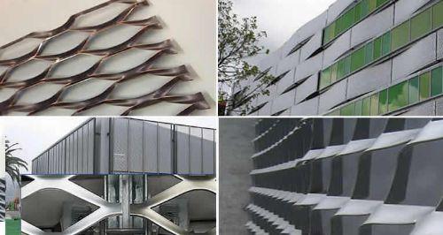 نمای ساختمان استرج متال